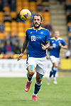 St Johnstone v Motherwell…08.08.21  McDiarmid Park<br />Stevie May<br />Picture by Graeme Hart.<br />Copyright Perthshire Picture Agency<br />Tel: 01738 623350  Mobile: 07990 594431
