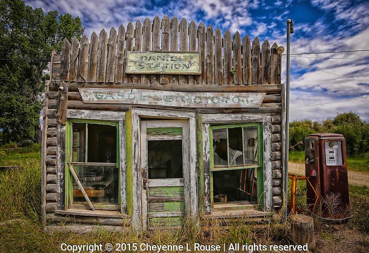 Daniel Station - Wyoming (color version)