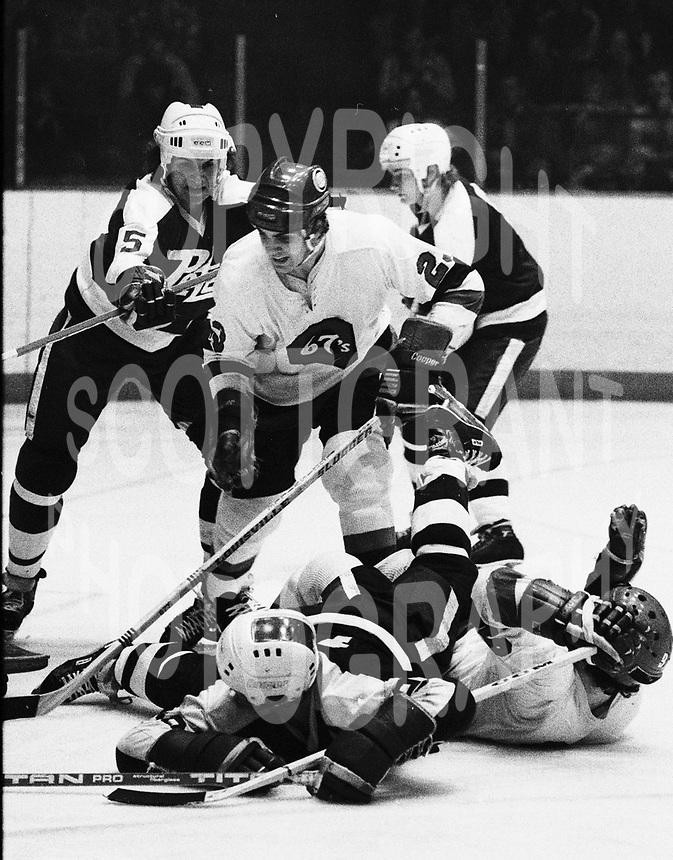 Ed Hospodar Ottawa 67's 1979. Photo Scott Grant