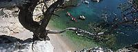 Europe/France/13/Bouches-du-Rhône/ Marseille: En Kayak dans la calanque de Morgiou [Auto N°: 331]