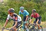 The peloton including Egan Bernal (COL) and Jonathan Castroviejo Nicolas (ESP) Team Ineos and Luis León Sanchez (ESP) Astana Pro Team during Stage 2 of the Route d'Occitanie 2020, running 174.5km from Carcassone to Cap Découverte, France. 2nd August 2020. <br /> Picture: Colin Flockton | Cyclefile<br /> <br /> All photos usage must carry mandatory copyright credit (© Cyclefile | Colin Flockton)