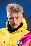 Daniel Wass of RC Celta de Vigo in training prior to the La Liga match between Atletico de Madrid and RC Celta de Vigo at the Vicente Calderón Stadium on 12 February 2017 in Madrid, Spain. Photo by Diego Gonzalez Souto / Power Sport Images