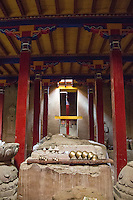 Inside the Monastery at Tholing in Western Tibet