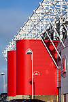 Architectural details of the Riverside stadium Middlesbrough, 16th January 2021, Middlesbrough 0 Birmingham 1, for WSC.