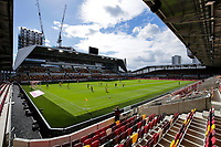 6th September 2020; Griffin Park, London, England; English Football League Cup, Carabao Cup, Football, Brentford FC versus Wycombe Wanderers; General view of the inside of Brentford Community Stadium during the 1st half