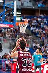Rio Natura Monbus Obradoiro's player Alberto Corbacho during the 3 shot contest of Supercopa of Liga Endesa Madrid. September 24, Spain. 2016. (ALTERPHOTOS/BorjaB.Hojas)