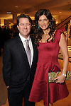 Honoree Melissa Mithoff and her husband Michael at the Houston Chronicle's Best Dressed Announcement Party at Neiman Marcus Wednesday Jan. 30, 2013.(Dave Rossman/ For the Chronicle)