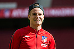 Kevin Gameiro of Atletico de Madrid prior to the La Liga 2017-18 match between Atletico de Madrid and Sevilla FC at the Wanda Metropolitano on 23 September 2017 in Madrid, Spain. Photo by Diego Gonzalez / Power Sport Images
