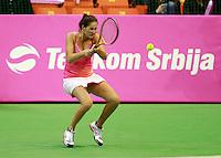 Bojana Jovanovski  Fed Cup Serbia vs Canada, World group II, first round, Novi Sad, Serbia, SPENS Sports Center, Sunday, February 06, 2011. (photo: Srdjan  Stevanovic)(credit image & photo: Pedja Milosavljevic / +381 64 1260 959 / thepedja@gmail.com )
