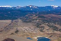 aerial of Cimarron, NM