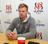 1st October 2019   Ulster Match Briefing<br /> <br /> Ulster Backs Coach Dwayne Peel during the Ulster Match Briefing ahead to their Sixth African tour at Gibson Park,  Belfast, Northern Ireland. Photo by John Dickson / DICKSONDIGITAL