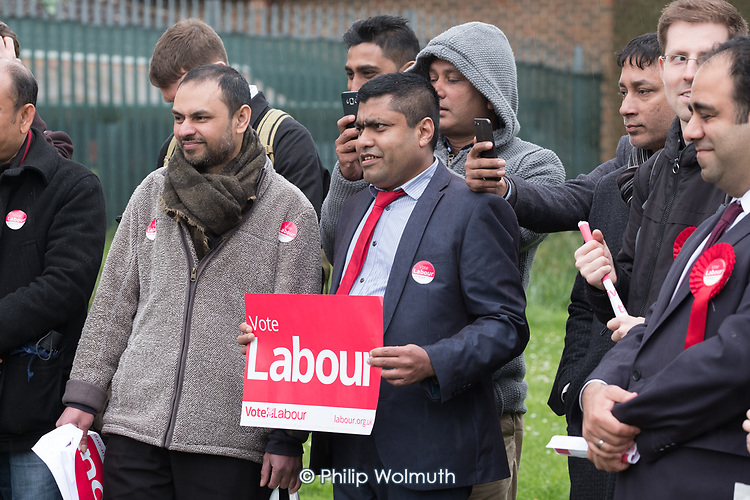 Labour Party local election campaign, Fortune Green, West Hampstead and Swiss Cottage wards, London Borough of Camden.