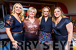 Karen Tobin, Principal Ann O'Callaghan, Charlotte Devane and Christena O'Brien from CBS the Green enjoying their Christmas party in Benners Hotel on Friday.