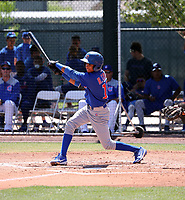 Rochest Cruz - Chicago Cubs 2019 extended spring training (Bill Mitchell)