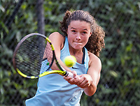 Hilversum, Netherlands, August 9, 2017, National Junior Championships, NJK, Carmen van Poelgeest<br /> Photo: Tennisimages/Henk Koster