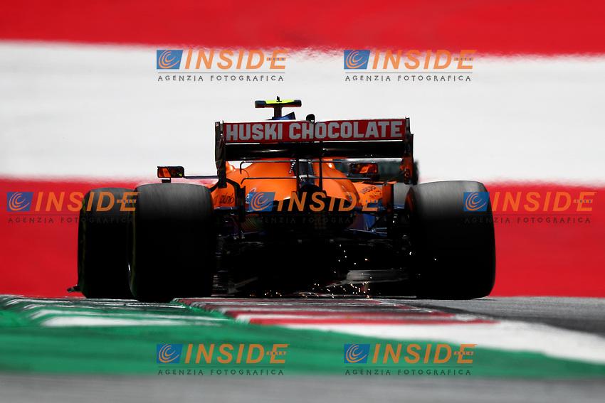 #03 Daniel Ricciardo McLaren Mercedes, Formula 1 World championship 2021, Styrian GP 2021, 26 June 2021<br /> Photo Federico Basile / Insidefoto