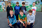 Ready to enjoy themselves at their funday in Listellick NS on Friday. Kneeling l to r: Milosz Skotak, Barry Laide and Darragh Lyons, Back l to r: Reece O'Connor, Philip McEneaney, Fionnan Collins and Feidhlim Ginty.