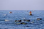 Boys In Dugout Canoe