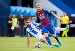 Lionel Messi of FC Barcelona in action during their La Liga match between Deportivo Leganes and FC Barcelona at the Butarque Municipal Stadium on 17 September 2016 in Madrid, Spain. Photo by Diego Gonzalez Souto / Power Sport Images