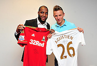 Swansea city fc sponsor awards... saturday 19th may 2013...<br /> <br /> <br /> <br /> Kemy Agustien