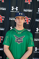 Darren Melville during the Under Armour All-America Tournament powered by Baseball Factory on January 17, 2020 at Sloan Park in Mesa, Arizona.  (Mike Janes/Four Seam Images)
