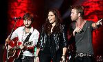 Lady Antebellum performs at Harveys Lake Tahoe in Stateline, Nev., on Friday, July 29, 2011. .Photo by Cathleen Allison
