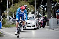 Tadej Pogačar (SVN/UAE-Emirates)<br /> <br /> Final stage 7 (ITT) from San Benedetto del Tronto to San Benedetto del Tronto (10.1km)<br /> <br /> 56th Tirreno-Adriatico 2021 (2.UWT) <br /> <br /> ©kramon