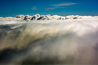 """""""Storm Clouds from Above"""" by Art Harman. Clouds from above are so different from below."""