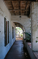 San Diego: Casa de Bandini, 1829--Alcove. (Restored) Photo '78.