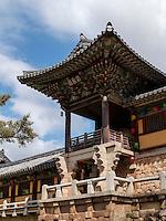 im buddhistischen Tempel Bulguksa, Gyeongju, Provinz Gyeongsangbuk-do, Südkorea, Asien, UNESCO-Weltkulturerbe<br />  buddhist temple Bulguksa, Gyeongju,  province Gyeongsangbuk-do, South Korea, Asia, UNESCO world-heritage