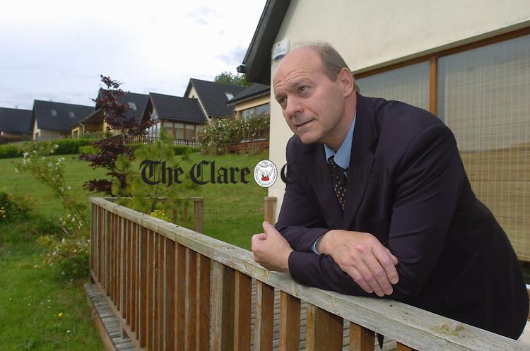 Dr William Porter in Ballina, Killaloe. Photograph by John Kelly.