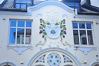 N - NORWAY - ALESUND<br /> Art Nouveau ornamentation on buildings in old town centre<br /> <br /> Full size: 69, 2 MB