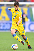 Lorenzo Ariaudo of Frosinone in action during the Serie A 2018/2019 football match between Frosinone and SSC Napoli at stadio Benito Stirpe, Frosinone, April 28, 2019 <br /> Photo Andrea Staccioli / Insidefoto