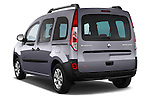 Rear three quarter view of a 2013 - 2014 Renault Kangoo eXtrem Mini MPV.