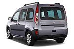 Rear three quarter view of a 2013 - 2014 Renault Kangoo eXtrem Mini MPV.