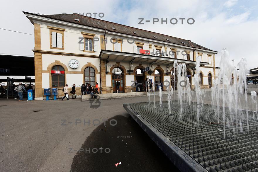 Geschaefte Bahnhof Yverdon am 24. Oktober 2011<br /> Mehr Bahnhof fuer SBB Immobilien<br /> <br /> Copyright © Zvonimir Pisonic / SBB CFF FFS