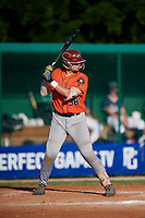 Jason Torres (38) during the WWBA World Championship at Lee County Player Development Complex on October 9, 2020 in Fort Myers, Florida.  Jason Torres, a resident of Miami, Florida who attends Miami Springs Senior High School, is committed to Miami.  (Mike Janes/Four Seam Images)