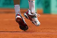 31-05-10, Tennis, France, Paris, Roland Garros, shoes