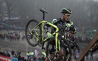 Sven Nys (BEL/Crelan-AAdrinks) in his final World Cup Race (ever)<br /> <br /> Grand Prix Adrie van der Poel, Hoogerheide 2016<br /> UCI CX World Cup
