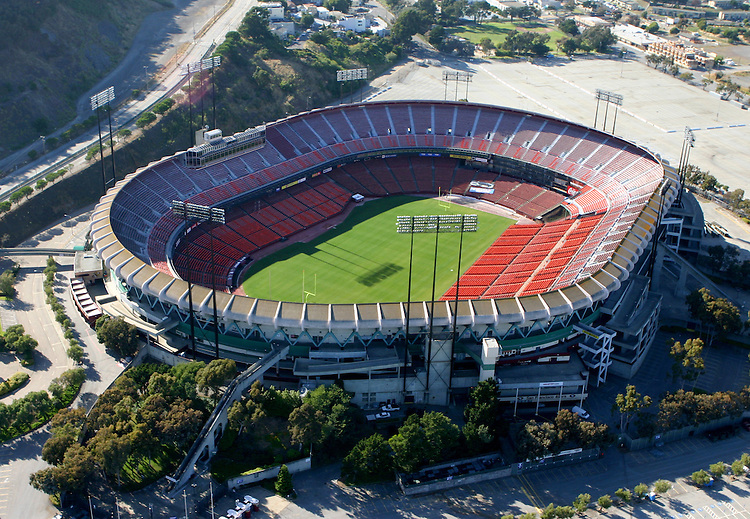 June 19, 2005; San Francisco, CA, USA; Aerial view of Monster Park in San Francisco, CA. Photo by: Phillip Carter