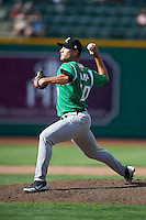 Dayton Dragons pitcher Ryan Kemp #20 during a Midwest League game against the Fort Wayne TinCaps at Parkview Field on August 19, 2012 in Fort Wayne, Indiana.  Dayton defeated Fort Wayne 5-1.  (Mike Janes/Four Seam Images)