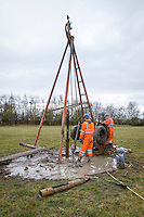 Drilling rig - ground investigations