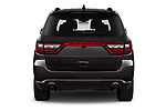 Straight rear view of 2021 Dodge Durango GT 5 Door SUV Rear View  stock images