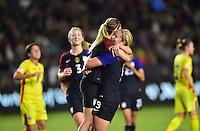 Carson, CA - November 13, 2016: The U.S. Women's National team defeat Romania 5-0 in an international friendly game at StubHub Center.