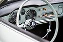 12/04/18 - BELLERIVES SUR ALLIER - ALLIER - FRANCE - Essais Volkswagen Karmann GHIA Type 14 de 1963 - Photo Jerome CHABANNE