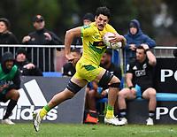 22nd May 2021; Grammar Tec, Auckland New Zealand; All Blacks Sevens versus Australia, Trans-Tasman Sevens;  Australia's Henry Paterson.