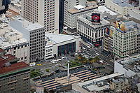aerial photograph Union Square, San Francisco, California