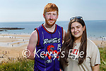 Enjoying a stroll in Ballybunion on Sunday, l to r: Steven Murphy and Denise Kuccuk from Causeway.