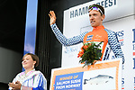 Sindre Skjostad Lunke Team Fortuneo Samsic retains the climbers Salmon Jersey at the end of Stage 3 of the 2018 Artic Race of Norway, running 194km from Honningsvg to Hammerfest, Norway. 18th August 2018. <br /> <br /> Picture: ASO/Pauline Ballet | Cyclefile<br /> All photos usage must carry mandatory copyright credit (© Cyclefile | ASO/Pauline Ballet)