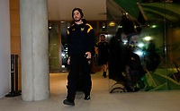 Photo: Richard Lane/Richard Lane Photography. Leinster Rugby v Wasps.  European Rugby Champions Cup Quarter Final. 01/04/2017. Wasps' Danny Cipriani arrives at the stadium.